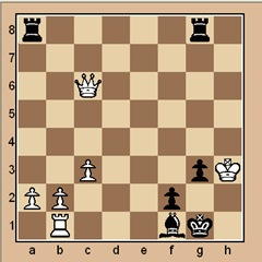 chess-puzzle 14 beginner p.8 #5 mate in 1