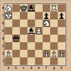 chess-puzzle 18 intermediate p. 9 #1 mate in 2