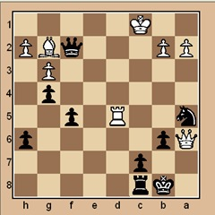 chess-puzzle 19 advanced p. 13 # 1 mate in 3
