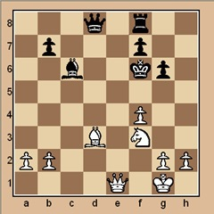 chess-puzzle 20 B p. 10-1 mate in 1