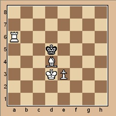 chess-puzzle 26 B p.13 #4 mate in 1