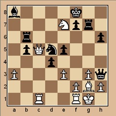 chess-strategy-puzzle #52 A p. 15-5 mate in 3