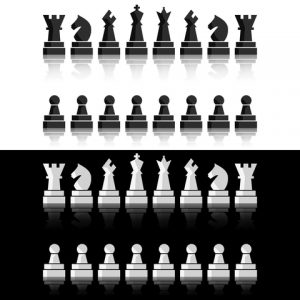 All the chess pieces